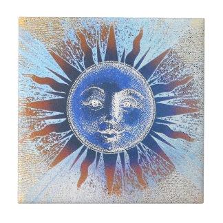 Sun God Sun Face gifts Tile