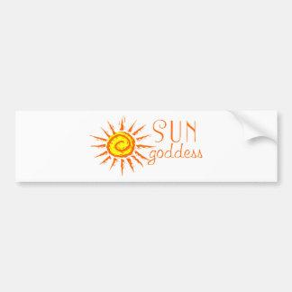 Sun Goddess Bumper Stickers