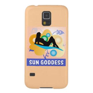 Sun Goddess Galaxy S5 Cover
