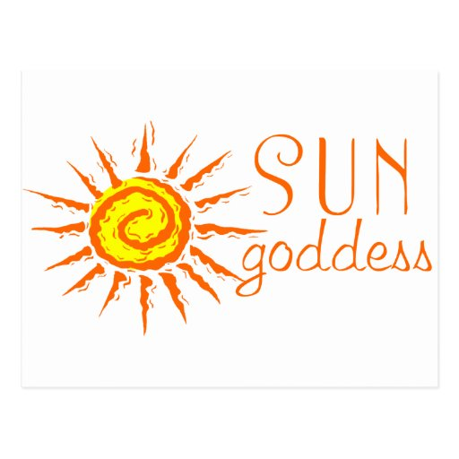 Sun Goddess Post Cards