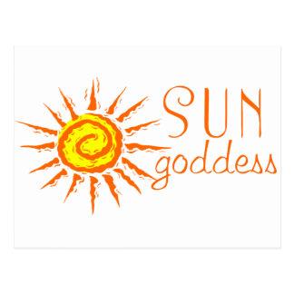 Sun Goddess Postcard