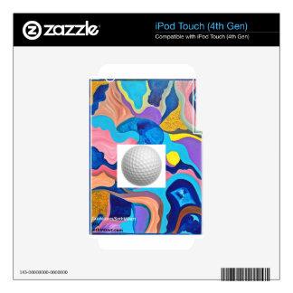 Sun Golf Ball Skin For iPod Touch 4G
