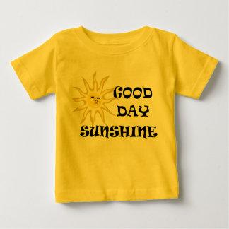 Sun Good Day Sunshine Innfants T-shirt Yellow