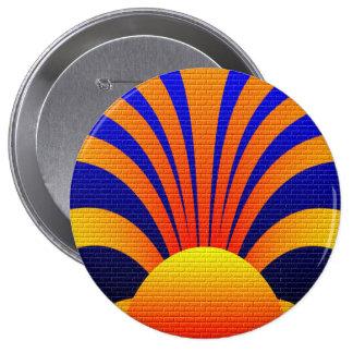 Sun Graffiti Button