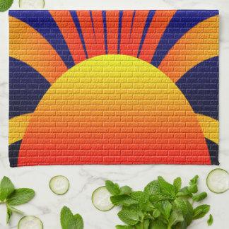 Sun Graffiti Hand Towel