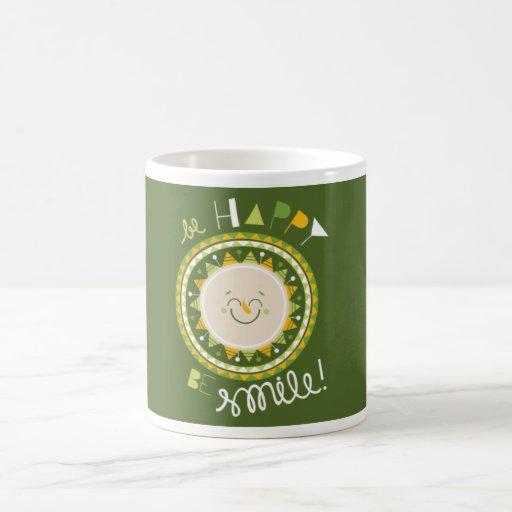 Sun Green Mug