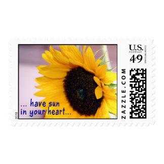 Sun-Greetings Postage Stamp