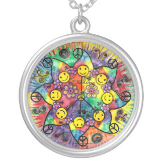 Sun Groove- Round Necklace