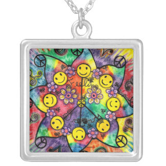 Sun Groove- Square Necklace