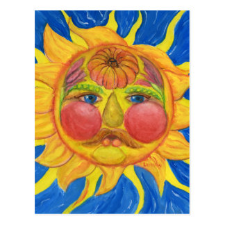 Sun hace frente, Vertumnus-Inspirado Postales