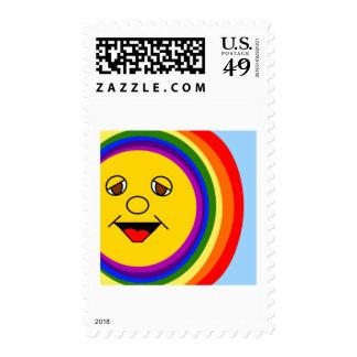 Sun hacen frente y el sello del arco iris