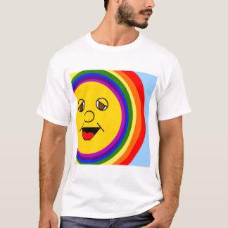 Sun hacen frente y la camiseta del arco iris