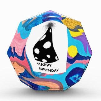 Sun Happy Birthday Acrylic Award
