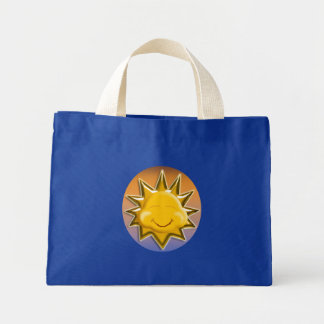 sun happy canvas bags