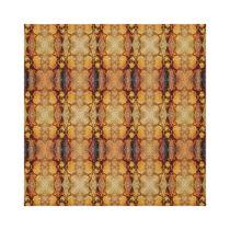 Sun Harmonic Fractal Pattern Canvas Print