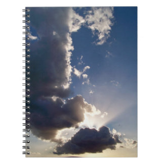 Sun hawaiano irradia el cuaderno