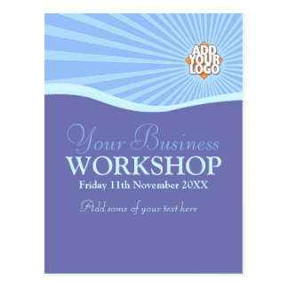 Promotion party officer cards greeting photo cards zazzle sun hills business workshop invitation template postcard stopboris Images