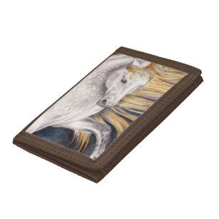 Sun Horse Andalusian Tri-fold Wallet
