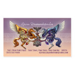 Sun Horse, Moon Horse Business Cards