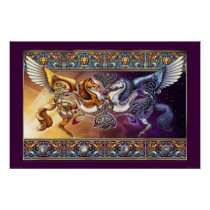 Sun Horse, Moon Horse Poster (30x20