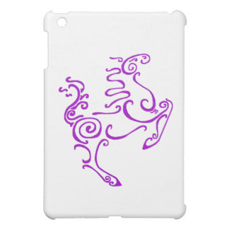 Sun Horse Purple iPad Mini Case