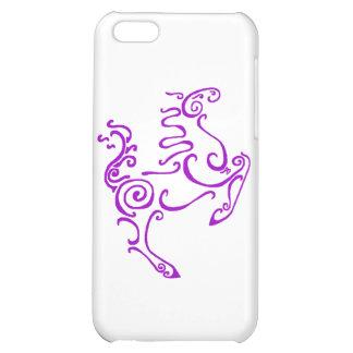 Sun Horse Purple iPhone 5C Covers