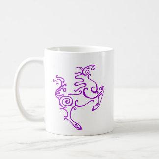 Sun Horse Purple Mug