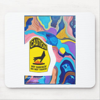 Sun Hot Surface Mouse Pad