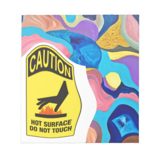Sun Hot Surface Note Pad