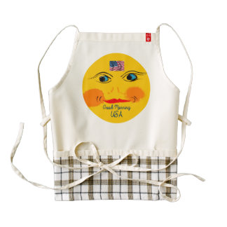 Sun image for Custom-Zazzle-HEART-Apron Zazzle HEART Apron