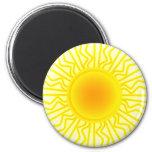 Sun Imán Redondo 5 Cm
