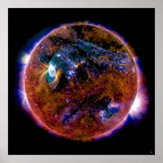 Sun in Magnetic Spectrum Print
