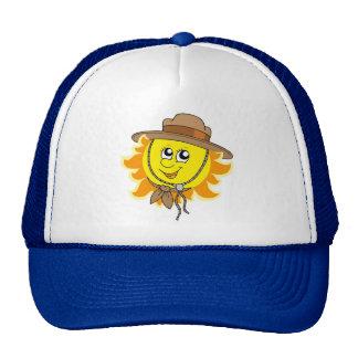 Sun in scout hat