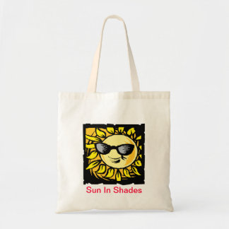 Sun In Shades Budget Tote Bag