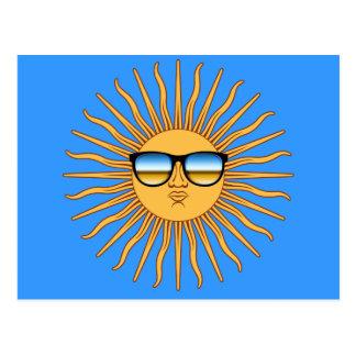 Sun in Shades Postcard