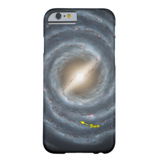 Sun in  the Milky Way NASA Barely There iPhone 6 Case