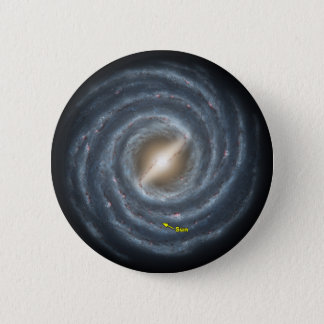 Sun in  the Milky Way NASA Button