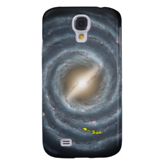 Sun in  the Milky Way NASA Galaxy S4 Cover