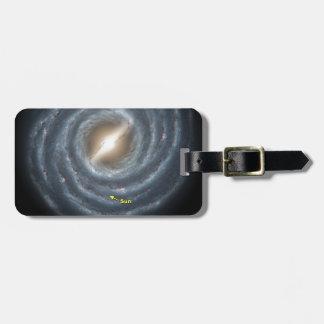 Sun in  the Milky Way NASA Luggage Tag