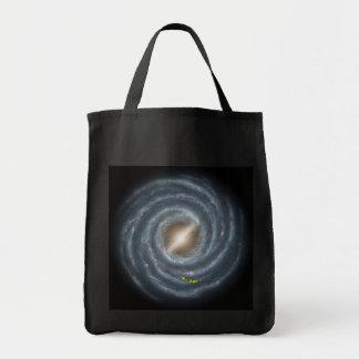 Sun in  the Milky Way NASA Tote Bag