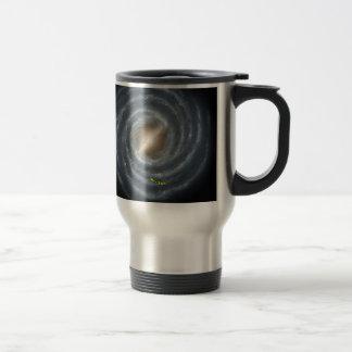 Sun in  the Milky Way NASA Travel Mug