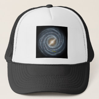 Sun in  the Milky Way NASA Trucker Hat