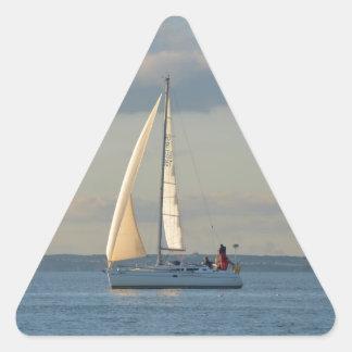 Sun In The Sails Triangle Sticker