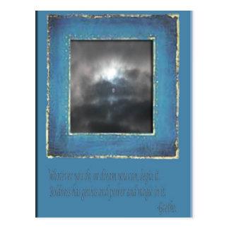 Sun in the Sky Postcard