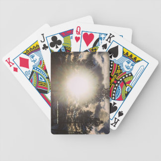 Sun In The Trees Playing Card Bicycle Playing Cards