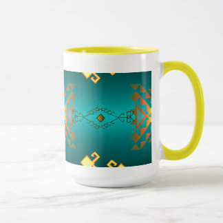 Sun In Winter Blanket Pattern Mug
