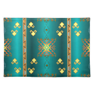 Sun In Winter Blanket Pattern Placemats