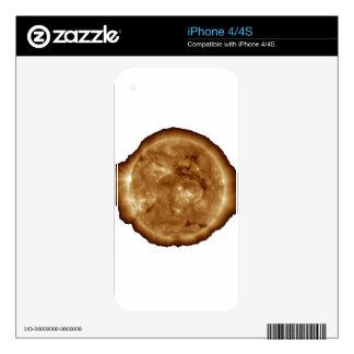 sun iPhone 4S decals