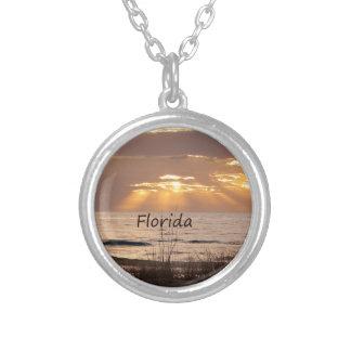 Sun irradia la puesta del sol de la Florida Colgante Redondo