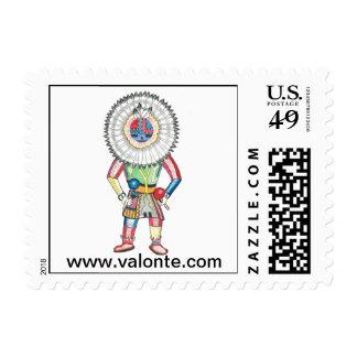 Sun Kachina Stamp